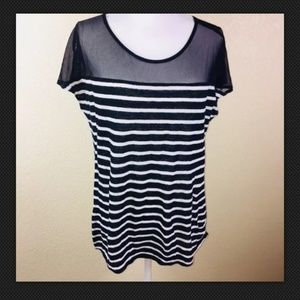 Ella moss Black & White  blouse